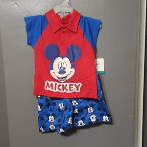 Mickey Mouse 12M Outfit New!